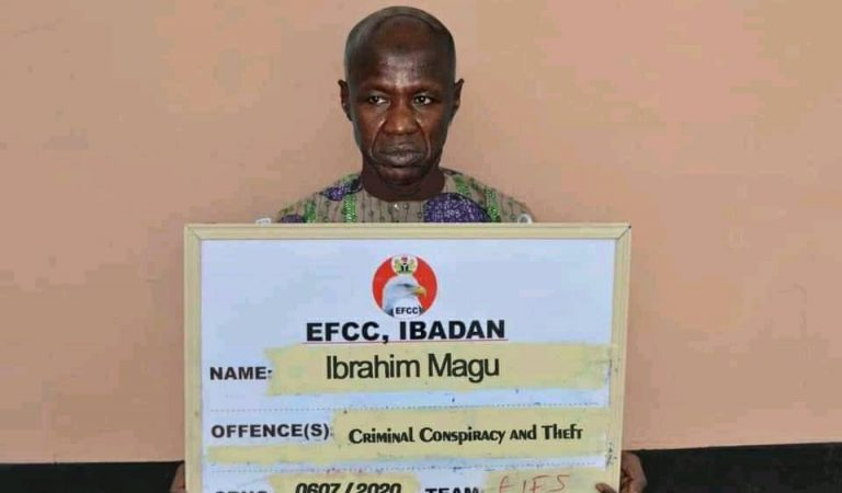 See 10 Memes of Magu, EFCC Boss Arrested By DSS